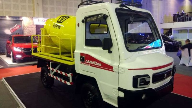 AMMDes berbentuk truk mixer