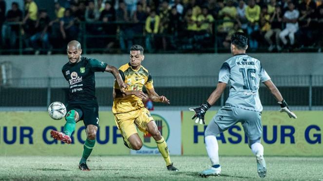 Laga Liga 1, Barito Putera kontra Persebaya Surabaya