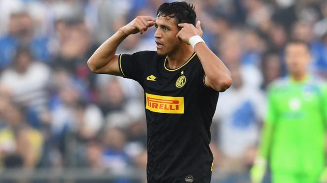 Striker Inter Milan, Alexis Sanchez
