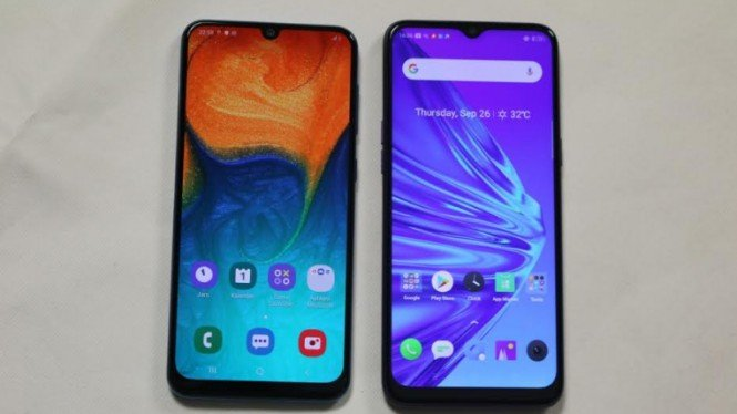 Realme 5 vs Samsung A30s