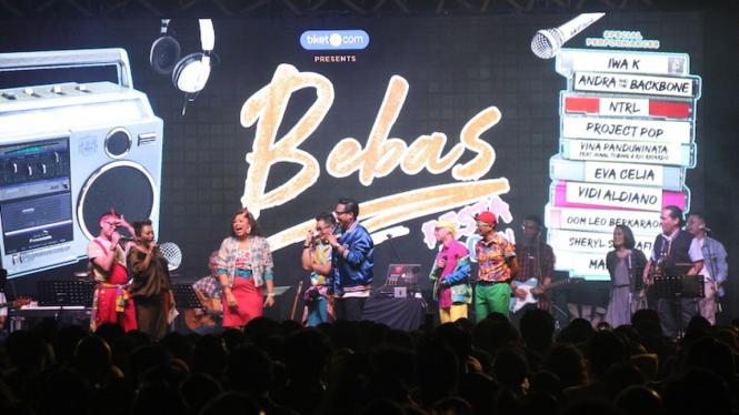 Konser Bebas Jakarta, 28 September 2019.