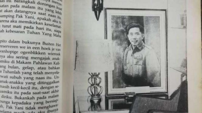 Potret mendiang Pahlawan Revolusi Jenderal Ahmad Yani