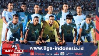 Skuat Persela Lamongan, (FOTO: MFA Rohmatillah/TIMES Indonesia)
