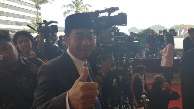 Abraham Lunggana alias Haji Lulung masuk DPR.