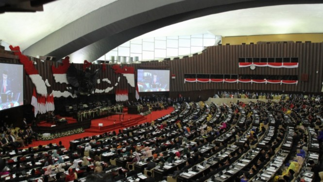 Sumpah Jabatan Anggota DPR RI Periode 2019-2024