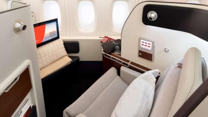 Qantas A380 First Suites