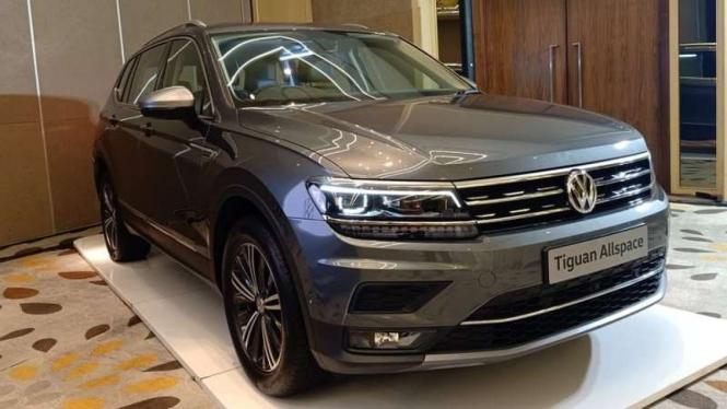 Volkswagen Tiguan Allspace sudah dirakit lokal di Indonesia