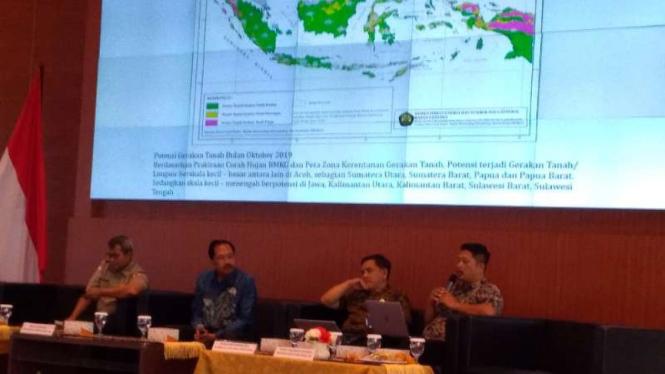 Pemaparan aktivitas gunung berapi di Indonesia