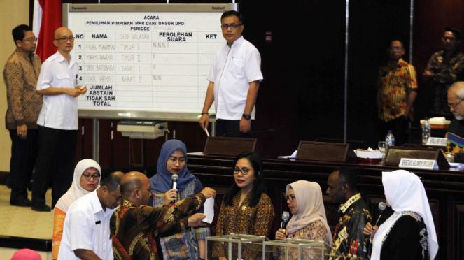 Fadel Muhammad, Terpilih Menjadi Pimpinan MPR dari Unsur DPD