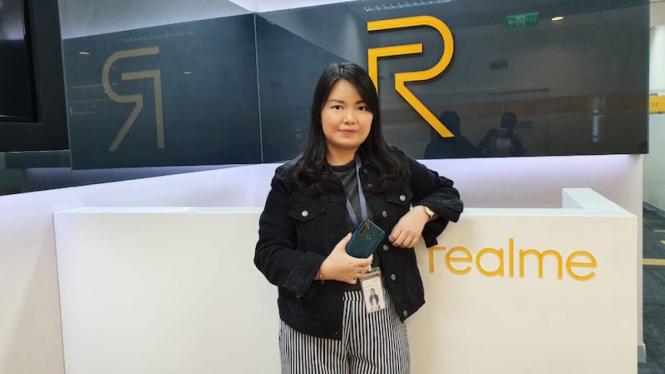 PR Manager Realme Indonesia, Krisva Agnieszca