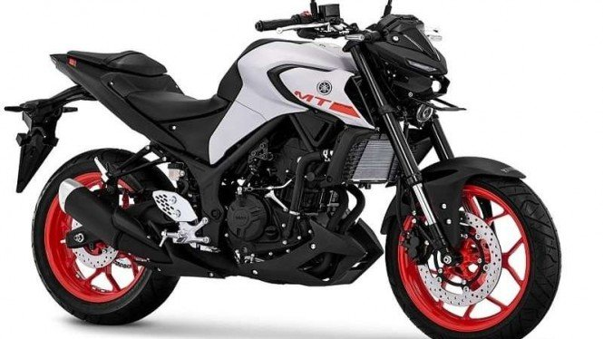 Yamaha MT-25 dengan tampilan baru