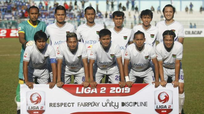Skuat Persita Tangerang di Liga 2 2019/2020