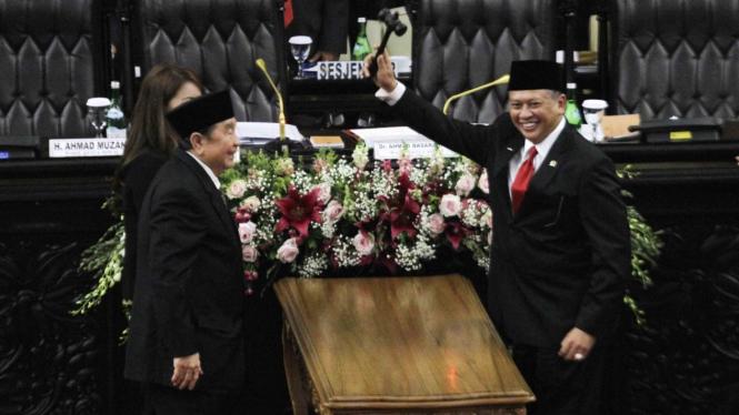 Bambang Soesatyo Terpilih Menjadi Ketua MPR RI