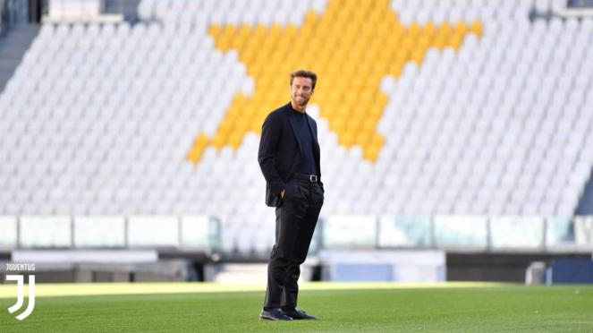 Mantan gelandang Juventus, Claudio Marchisio
