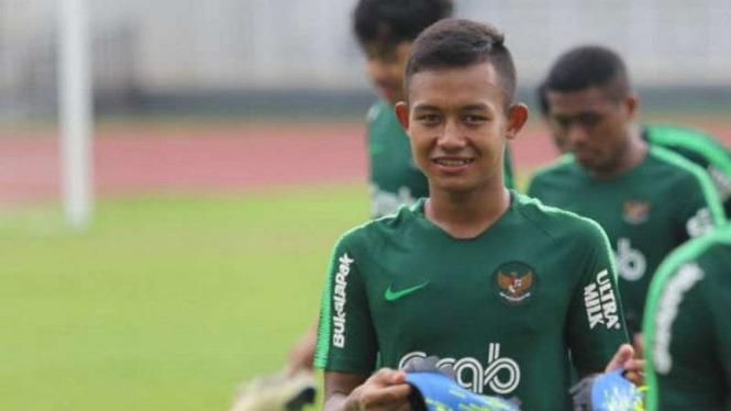 Gelandang Timnas Indonesia U-23, Sani Rizki Fauzi.