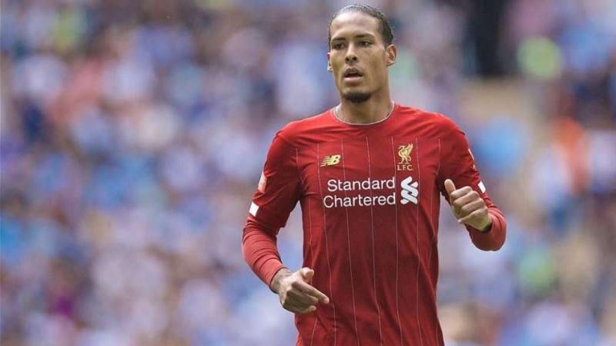 Pemain belakang Liverpool, Virgil van Dijk