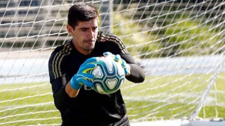 Penjaga gawang Real Madrid, Thibaut Courtois