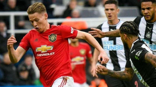 Laga Premier League, Newcastle United vs Manchester United