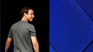 Bos Facebook Sepakat Musnahkan Miliarder di Dunia. (FOTO: Reuters/Stephen Lam).