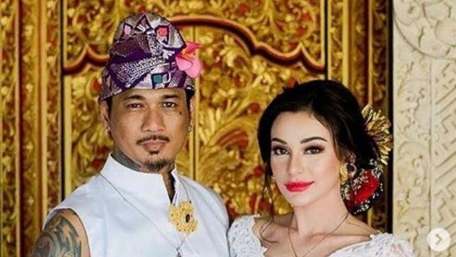 Jerinx resmi menikahi Nora Alexandra