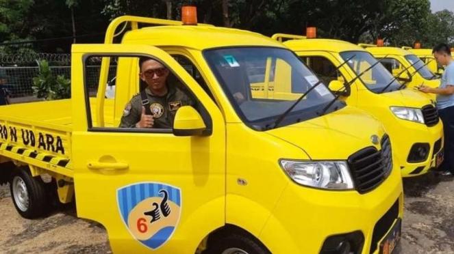 Pikap Esemka jadi kendaraan operasional TNI AU di Lanud Atang Sendjaja