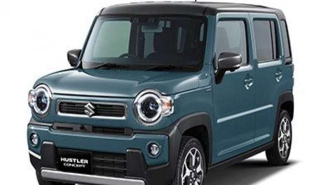Suzuki Hustler menjadi salah satu mobil konsep di Tokyo Motor Show