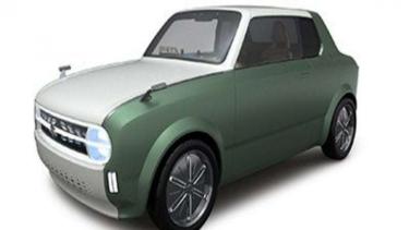 Mobil konsep Suzuki Waku, terinspirasi dari sedan klasik