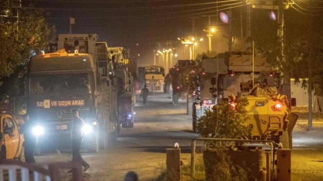 Usai Diancam Trump, Turki Tambah Pasukan di Perbatasan Suriah