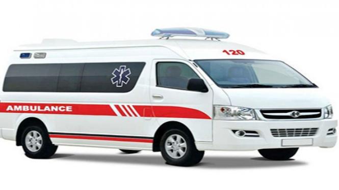 Ilustrasi ambulan