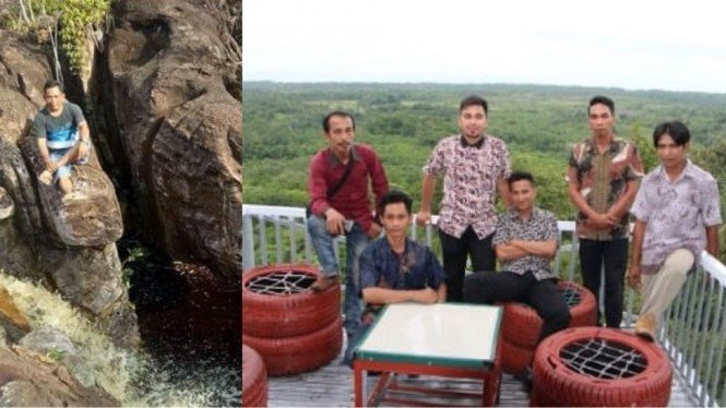 Wisata Bukit Kapur Desa Ceruk