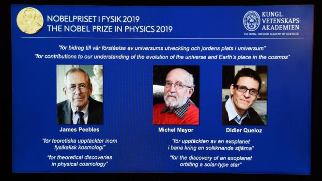 Penerima Nobel Fisika 2019