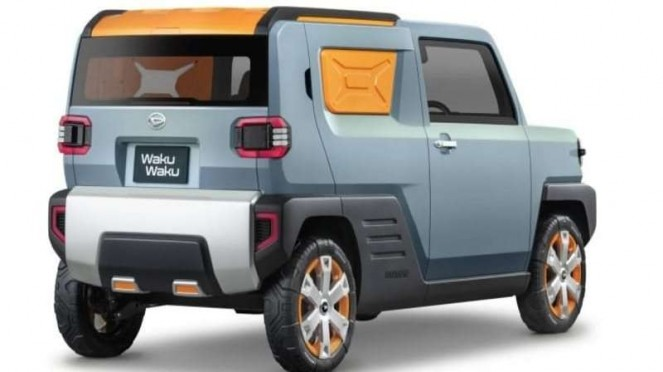 Mobil konsep Daihatsu Waku Waku sebagai SUV bertubuh mungil