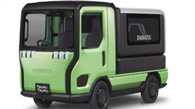 Truk masa depan bertubuh mungil Daihatsu Tsumu Tsumu