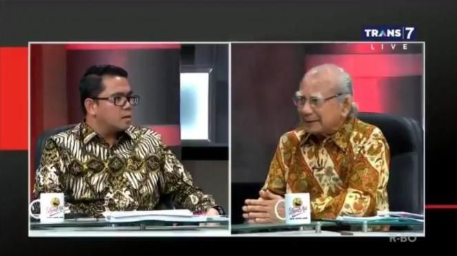 Politisi PDIP, Arteria Dahlan, dan Ekonom Emil Salim