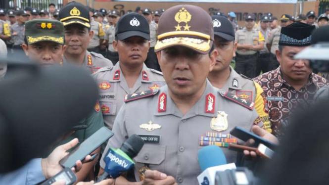 Kepala Kepolisian Daerah Jawa Barat Irjen Pol Ahmad Dofiri