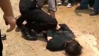 Abu Rara diringkus polisi.