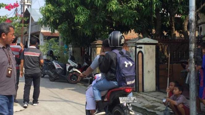 Syahrial, pelaku penusukan Wiranto pernah tinggal di Jalan Alfaka V, Kelurahan Tanjung Mulia Hilir, Kecamatan Medan Deli, Kota Medan, Sumatera Utara.