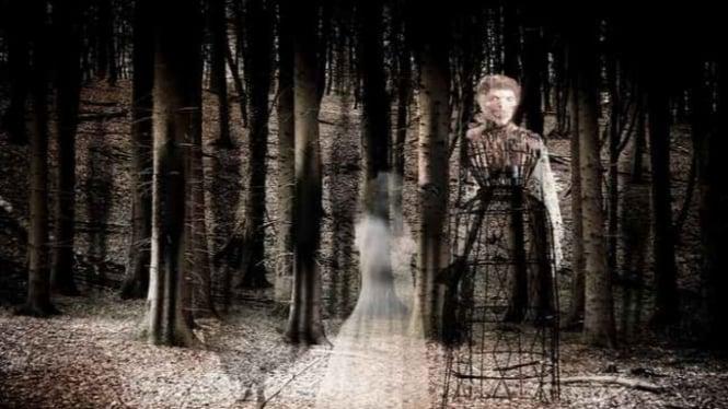 Ilustrasi roh orang yang sudah meninggal