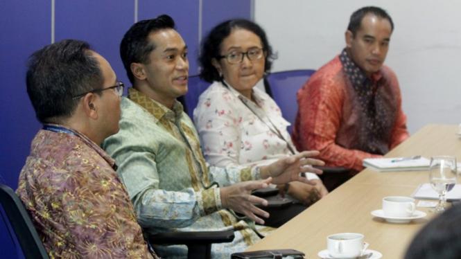 Kunjungan PT Bakrie & Brothers ke  Harian Umum Kompas