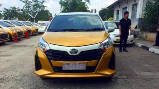 Toyota Calya jadi Taksi Express