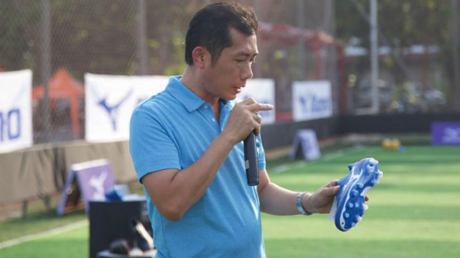 Brand Manager Mizuno Indonesia, Hendry Hartanto
