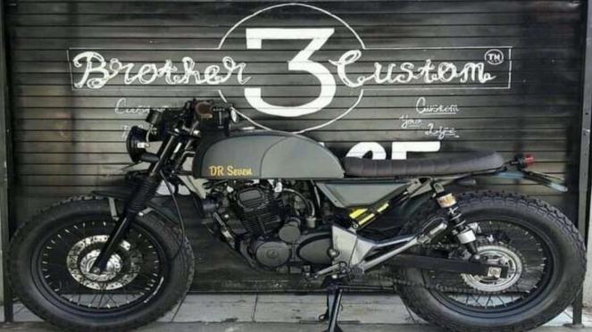 Sepeda motor custom yang awalnya akan diberikan untuk Ustaz Abdul Somad
