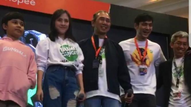 Peluncuran Rakyat Bumilangit di Indonesia Comic Con