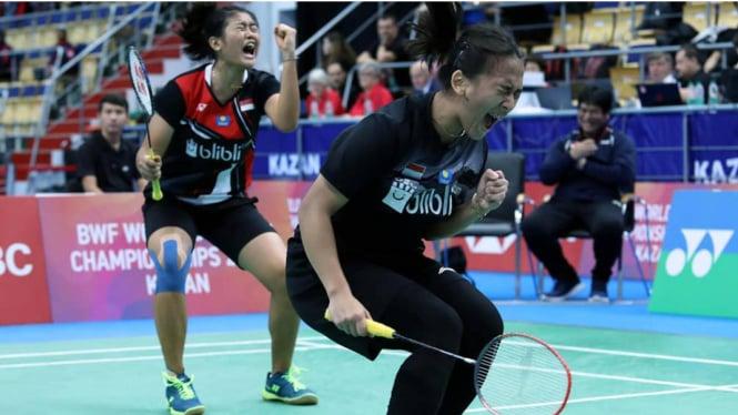Perang Saudara Ganda Putri Indonesia Tersaji di Spain Masters 2021