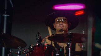 Drummer Gugun Blues Shelter