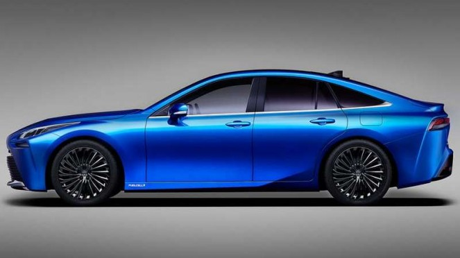 Toyota Mirai generasi baru