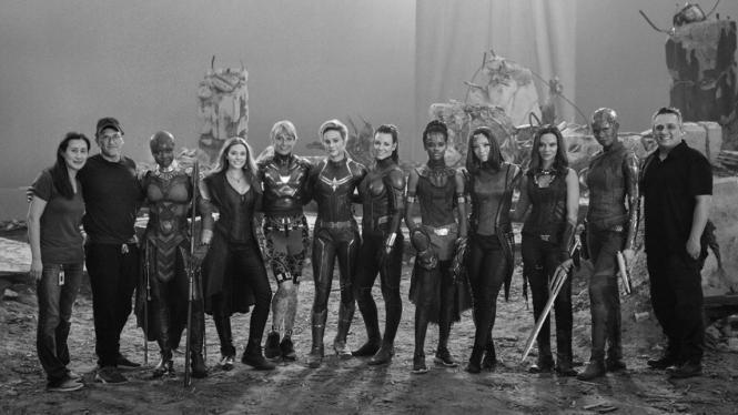 Para wanita di Avengers