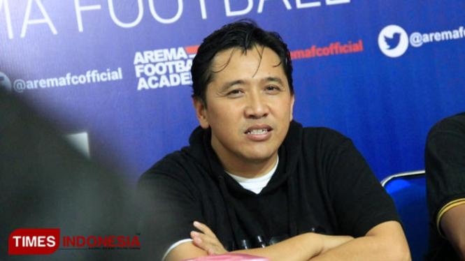 Media officer Arema FC, Sudarmaji (FOTO: Dokumen TIMES Indonesia)