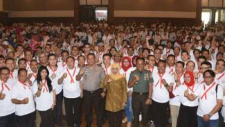 Puluhan asosiasi di Jatim gelar deklarasi damai.
