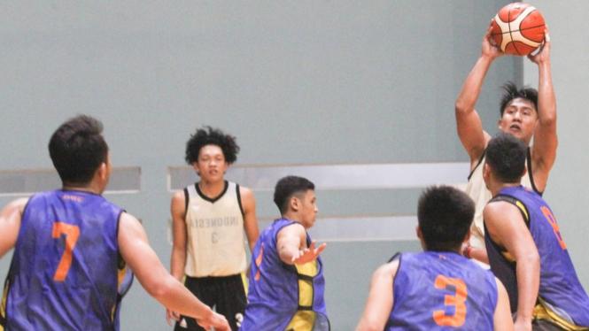Timnas Basket Gelar Latihan Jelang Sea Games 2019